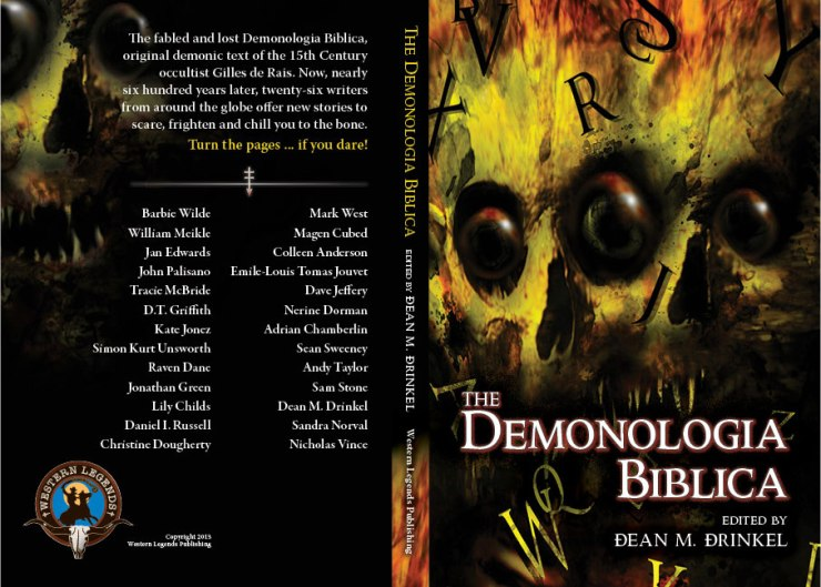 The Demonologia Biblica cover spread