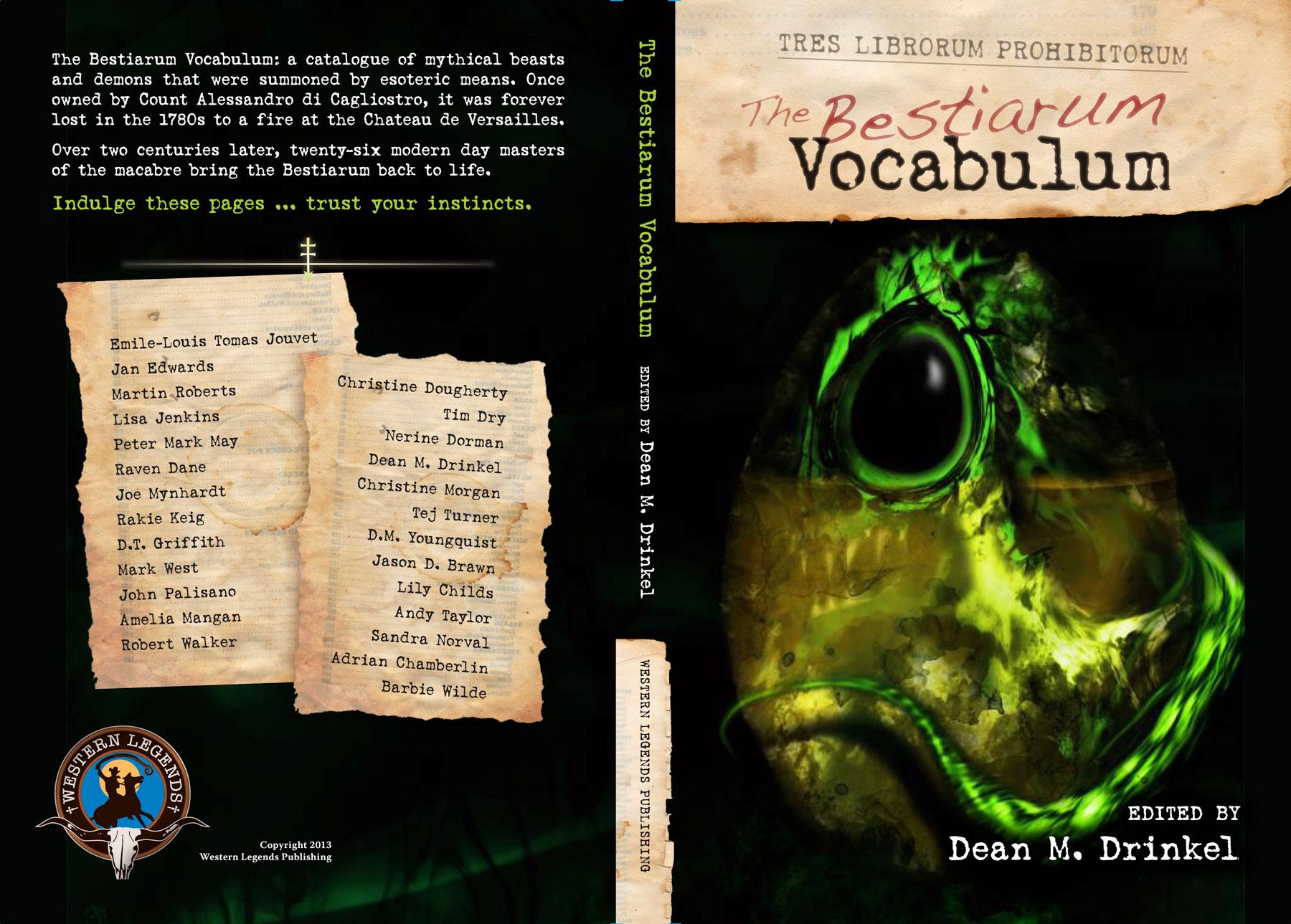The Bestiarum Vocabulum - cover spread
