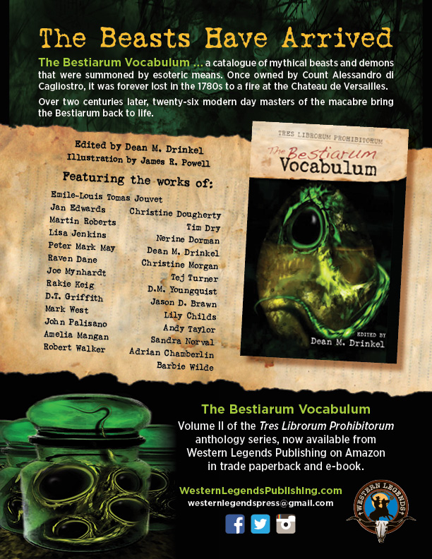 The Bestiarum Vocabulum One Sheet