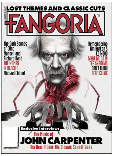 FEAR CLINIC: Shocked Treatment article in FANGORIA #339